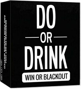 Fun for or Dirty Card Do or Drink & Game Party Shots Dare Drinking Adults