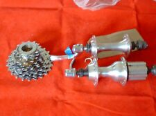 CAMPAGNOLO MIRAGE  32 HOLE HUBS & 9 SPEED CASSETTE, 2000's
