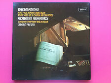 DECCA STEREO SXLF 6565-7 3LP RACHMANINOV FOUR PIANO CONCERTOS ASHKENAZY PREVIN