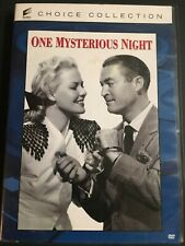 ONE MYSTERIOUS NIGHT DVD VOD MOD JANIS CARTER 1944 classic
