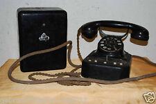 Antikes Siemens Bakelit Telefon - aus der Zeit nach 1930 - defekt