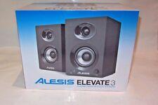 NEW Alesis Elevate 3 115V Powered Desktop Studio Speakers (PAIR)