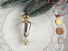 Russian Samovar Christmas ornament Rare Antique Mercury Glass 40s 50s Soviet 141