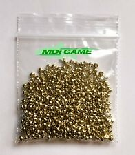 500 MDI Game Quality Gold (Brass Plated) beads for Fly Tying 3mm