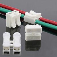 30X Electrical Cable Connectors Quick Splice Lock Wire Terminals Self Locki G3