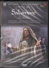 Salomone DVD Maria Grazia Cucinotta Umberto Orsini Stefania Rocca Nuovo Sig.