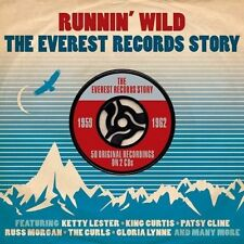 RUNNIN' WILD - THE EVEREST RECORDS STORY 1959-1962 (NEW SEALED 2CD)