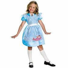 DISNEY ALICE IN WONDERLAND CHILDRENS GIRLS PARTY FANCY DRESS COSTUME OUTFIT M7-8