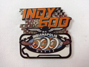 2000 Indianapolis 500 IMS Track Event Collector Lapel Pin IndyCar Montoya