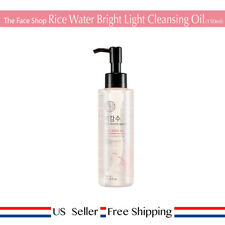 The Face Shop Rice Water Bright Cleansing Light Oil 150ml + Free Sample [US]