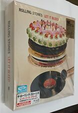 THE ROLLING STONES Let It Bleed 50TH ANNIVERSARY JAPAN Limited 2 SACD EP Size