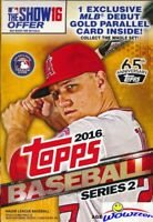 2016 Topps Series 2  Baseball HUGE EXCLUSIVE Factory Sealed 72 Card Hanger Box