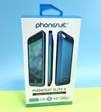 Phonesuit - Elite 6 External Battery Case For Apple iPhone 6 Plus - Blue #2936