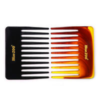 Plastic Men's Hair Comb Wide Tooth Comb Hair Fork Brush Salon Styling Tool New