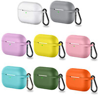Silicone Soft Skin Cover Protective Case for AirPods Pro Bluetooth Earphone