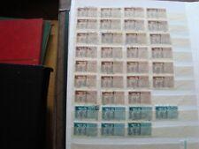 italia - sello yvert y tellier expresa nº 44 x7 47 x27 matasellados stamp Italia