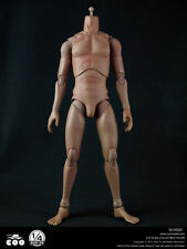 "COOMODEL HD001 1/4 Scale Flexible Figure Body Fit for 18"" Male Head NEW"