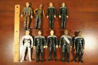 "Star Trek First Contact 6"" figure lot Picard Riker Cochrane Troi Data Worf"