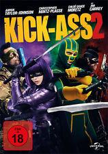 Kick -Ass 2 - Jimi Carrey - Aaron Tayler-Johnson - DVD  - NEU & OVP - FSK 18