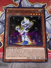 Carte YU GI OH MAGICIEN SILENCIEUX LV4 YGLD-FRC05