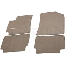 Fits Toyota Corolla 10-13 Set of Front & Rear Carpet Floor Mats Brown Genuine
