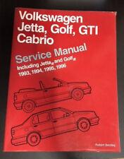 Service Manual - Volkswagen Jetta, Golf, GTI Cabrio - 1993-1996