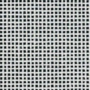 "Mono Deluxe Blank Needlepoint Canvas WHITE Zweigart four 7.5"" x 10"" pieces 18 ct"