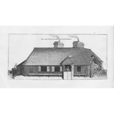 THE CITY GUARD HOUSE in Edinburgh - Antique Print 1786 by John Kay
