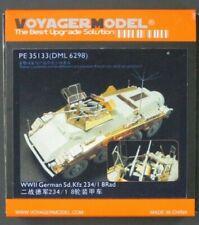 Voyager Model 1/35 Scale German Sd Kfz 234/1 8 Rad PE Set No. 35133