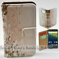 For Google Series - Chaotic Floral Theme Print Wallet Mobile Phone Case Cover