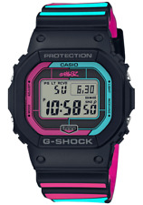 Casio G-Shock x Gorillaz Tie Up Limited Edition Blue Pink Watch New GWB5600GZ-1
