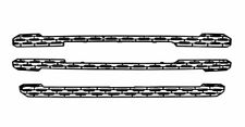 Black Grille Overlay / Trim FITS 2019 2020 GMC Sierra 1500 (SLT & AT4 ONLY!)