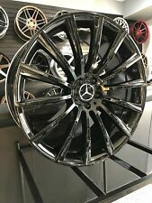 22x9 Gloss Black S63 Amg Rims Wheels Mercedes Benz E350 Gle350 S550 Gls350 Gl350