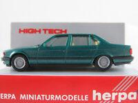 Herpa 025430 BMW 740iL (1992) in islandgrün metallic 1:87/H0 NEU/OVP HIGH TECH