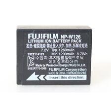 Fujifilm np-w126 li-batería de iones para x-pro1, x-e1 y hs30