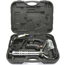 Cordless Grease Gun 18V | 10,000PSI Rechargeable Lithium-Ion Battery Kit w/ Case