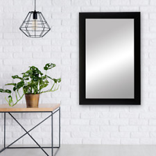 Black Framed Mirror - Shelby Collection