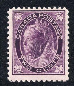 Canada #68 2c Queen Victoria Unused Scott CV $50.00