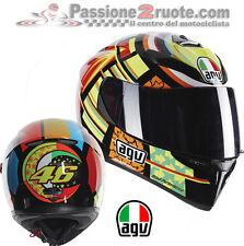 Casco integrale moto Agv K3 Sv Valentino Rossi 46 Elements taglia S