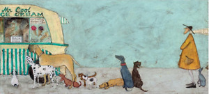 Waiting for Mr Cool by Sam Toft Art Print Photo Wall Art