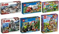 Lego Sets 150-1106pcs Star Wars DC Comics Marvel Same Day Shipping
