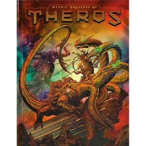 D&D 5E RPG: Mythic Odysseys of Theros (Alternate Cover) Dungeons Dragons