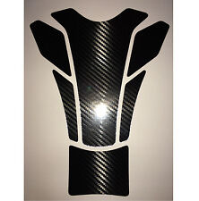 Universal Motorcycle Fuel Tank Pad Carbon Fiber Look Protector Cover decal #6