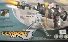 3 da combattimento Esercito Commando Machine Gun Pistola con luci e suoni bambini giocattolo