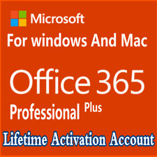 MICROSOFT OFFICE 365 LIFETIME ACCOUNT✔️5 DEVICES 5TB WINDOWS✔️MAC✔️MOoffice 365