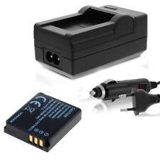 Batería con cargador set para Panasonic Lumix dmc-fc01 fx01 dmc-fx3 fx07 fx8 fx9
