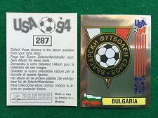 USA 94 1994 n 287 SCUDETTO BADGE BULGARIA , Figurina Sticker Panini (NEW)