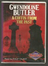 GWENDOLINE BUTLER - A COFFIN FROM THE PAST - 4 cassette - AUDIO BOOK  ex-library
