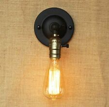 Bronze Adjustable Vintage Industrial Rustic Retro Sconce Wall Light Lamp  Fitting