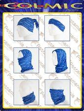 Scaldacollo COLMIC Blu Bandana Tube Cappello Sciarpa Balaclava